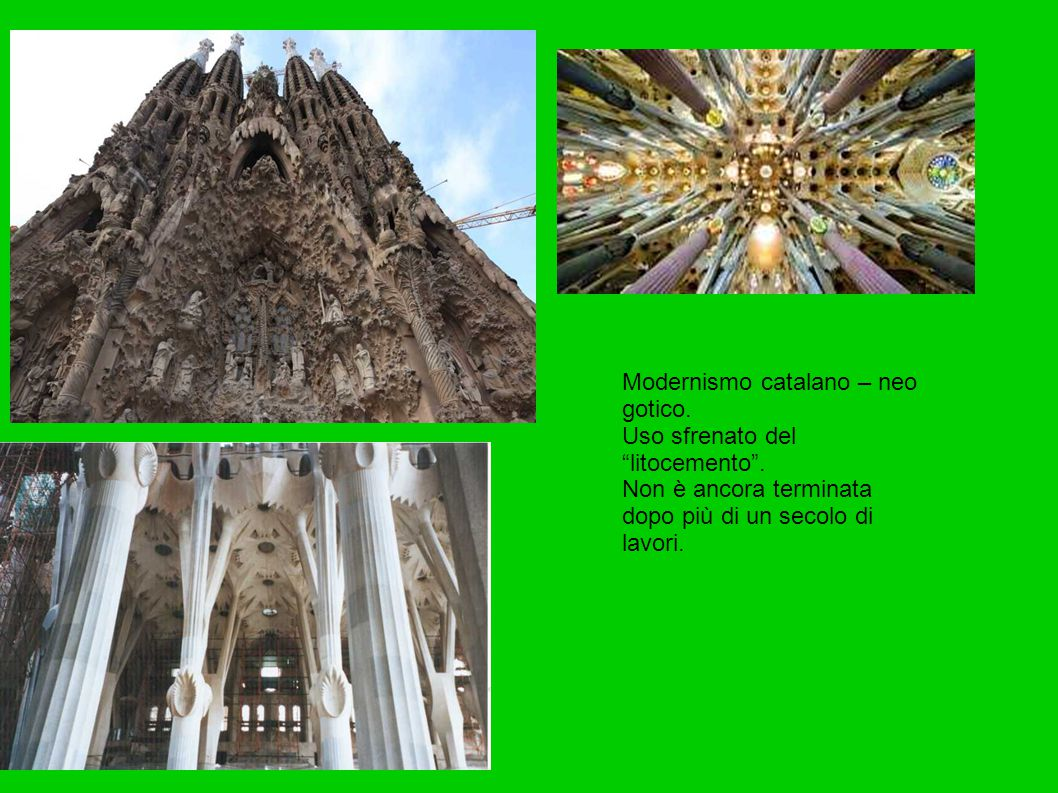 Modernismo catalano – neo gotico.