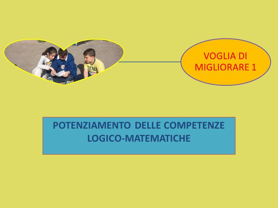 POTENZIAMENTO DELLE COMPETENZE LOGICO-MATEMATICHE