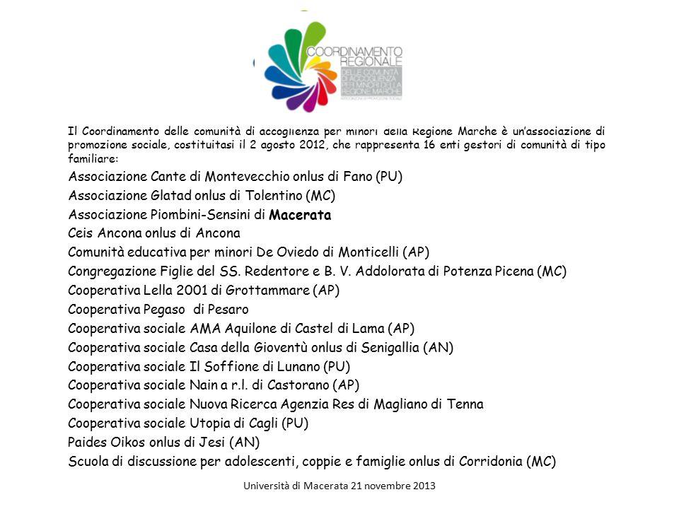 Università di Macerata 21 novembre 2013