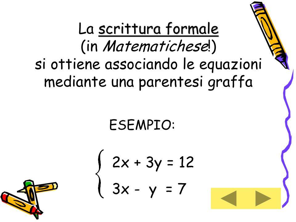 2x + 3y = 12 3x - y = 7.