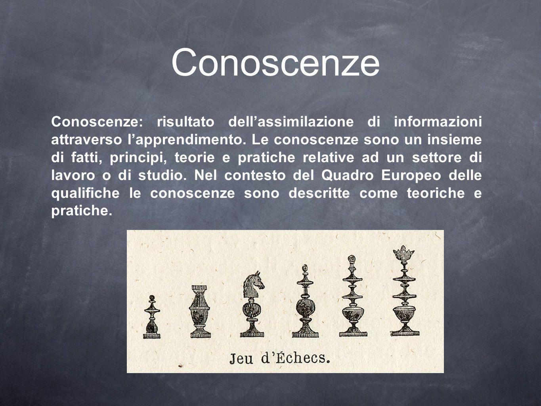 Conoscenze