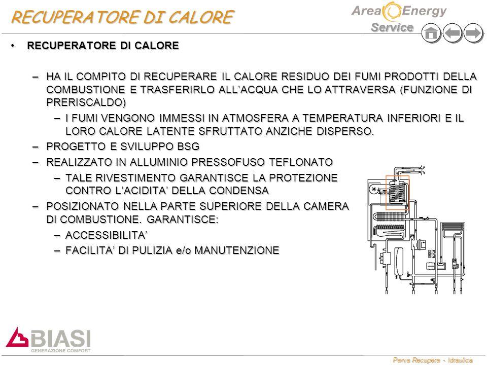 RECUPERATORE DI CALORE