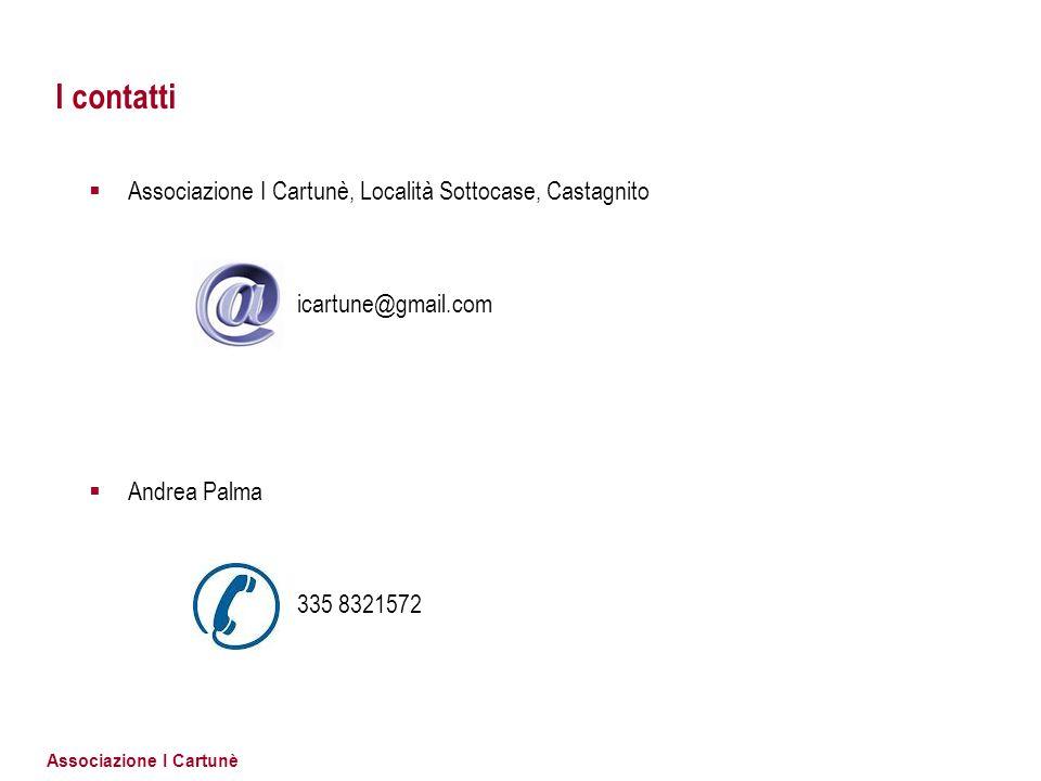 I contatti Associazione I Cartunè, Località Sottocase, Castagnito