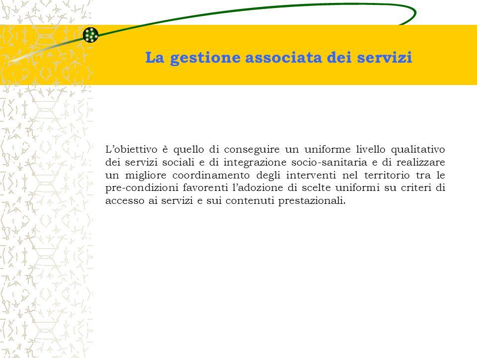 La gestione associata dei servizi