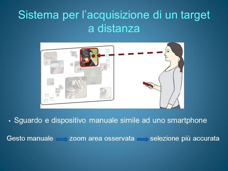Sistema per l'acquisizione di un target a distanza