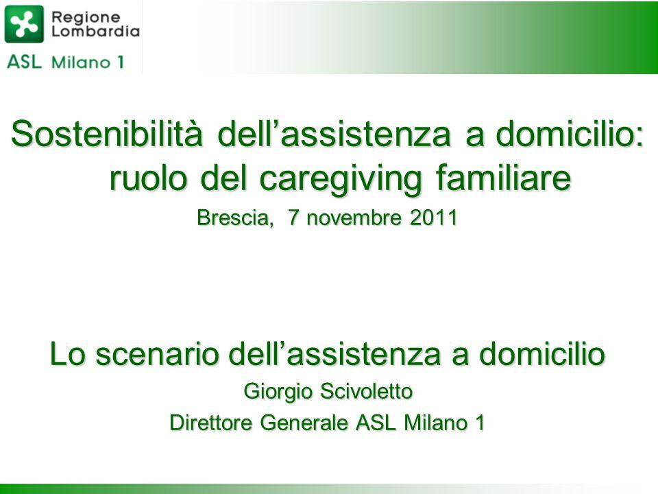Sostenibilità dell'assistenza a domicilio: ruolo del caregiving familiare