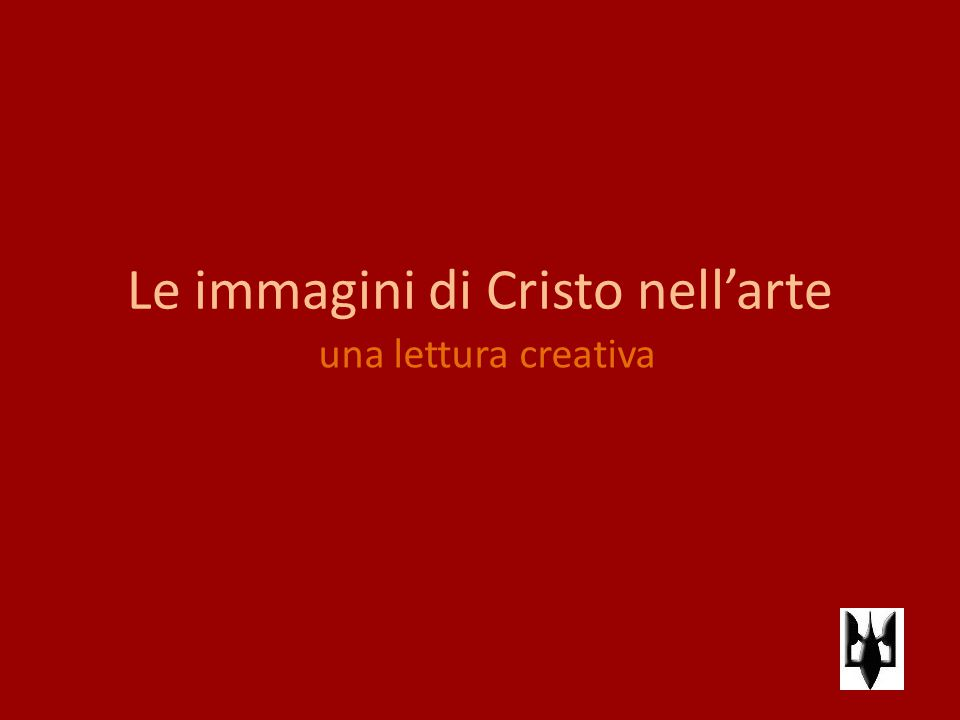 Le immagini di Cristo nell'arte