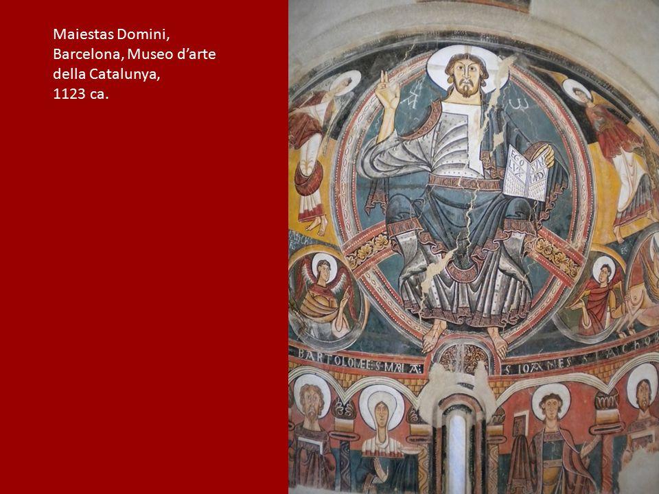 Maiestas Domini, Barcelona, Museo d'arte della Catalunya, 1123 ca.