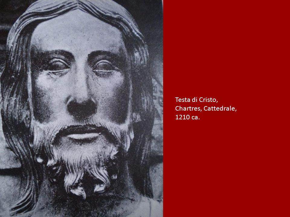 Testa di Cristo, Chartres, Cattedrale, 1210 ca.