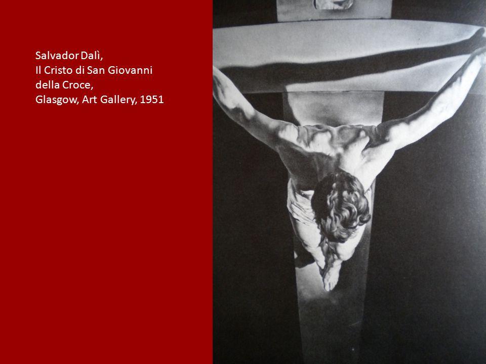 Salvador Dalì, Il Cristo di San Giovanni della Croce, Glasgow, Art Gallery, 1951