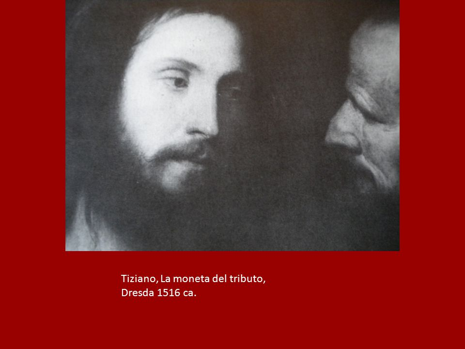 Tiziano, La moneta del tributo,