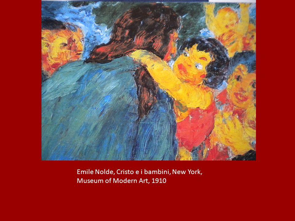 Emile Nolde, Cristo e i bambini, New York,