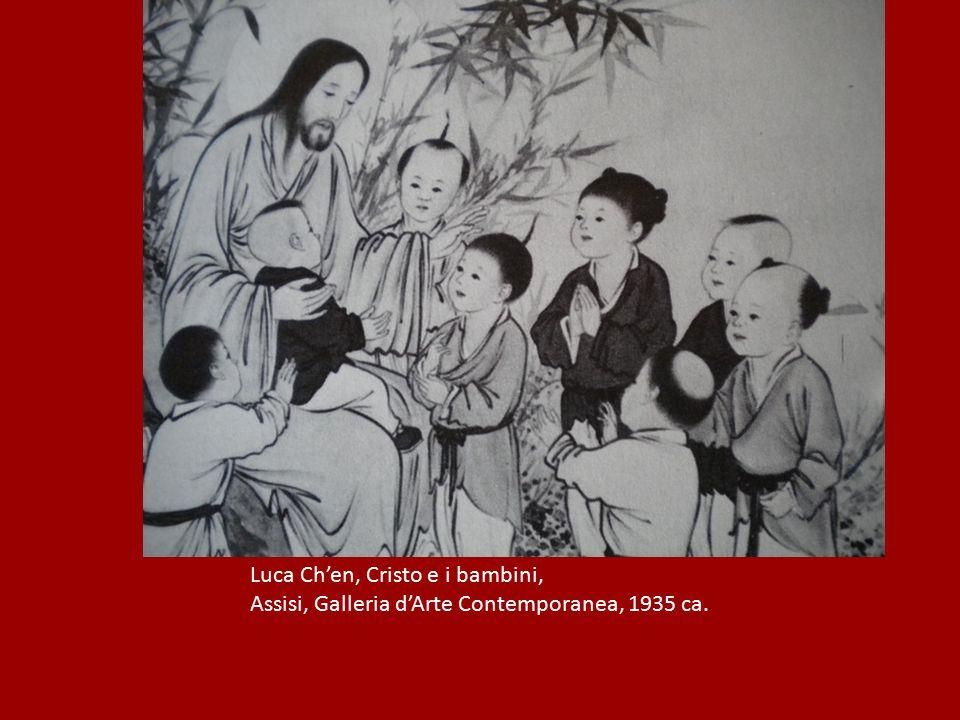 Luca Ch'en, Cristo e i bambini,