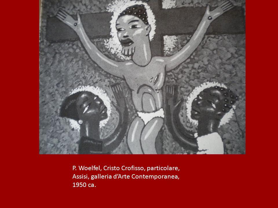 P. Woelfel, Cristo Crofisso, particolare,