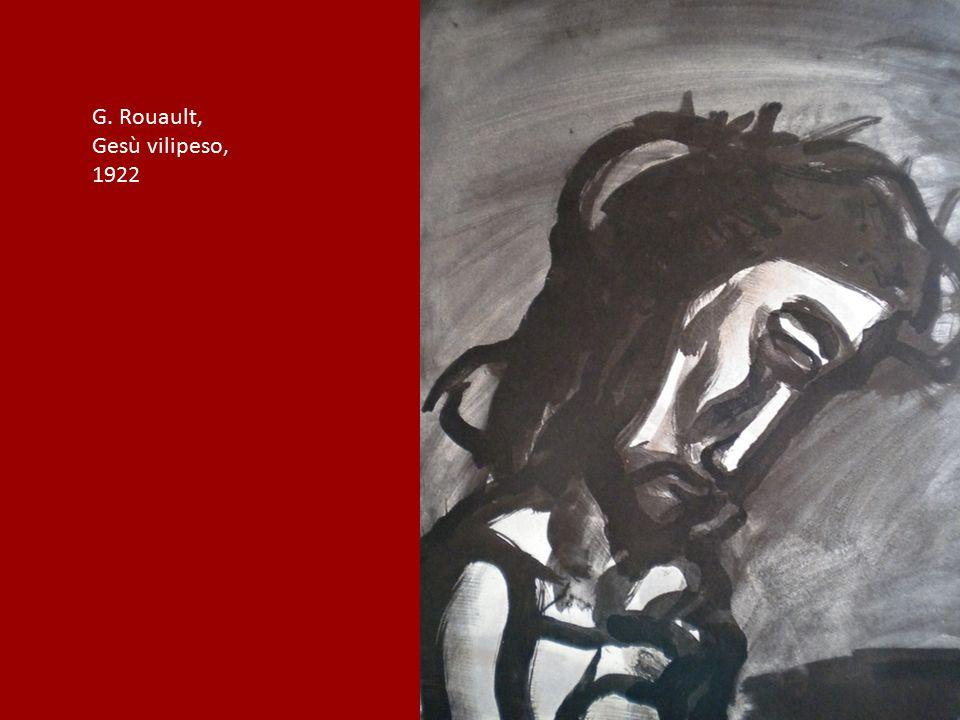 G. Rouault, Gesù vilipeso, 1922