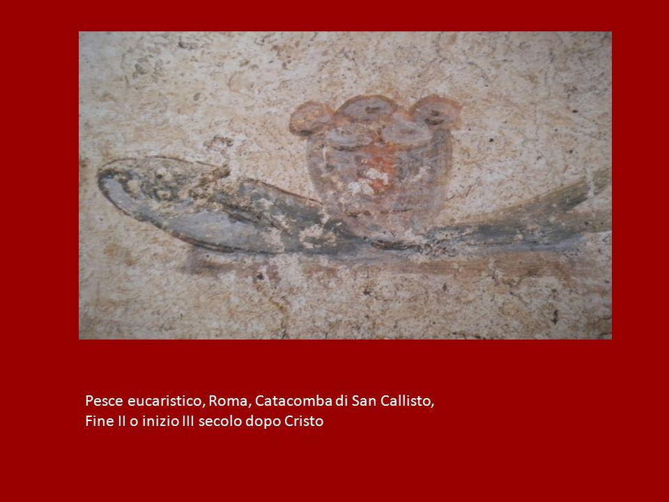 Pesce eucaristico, Roma, Catacomba di San Callisto,