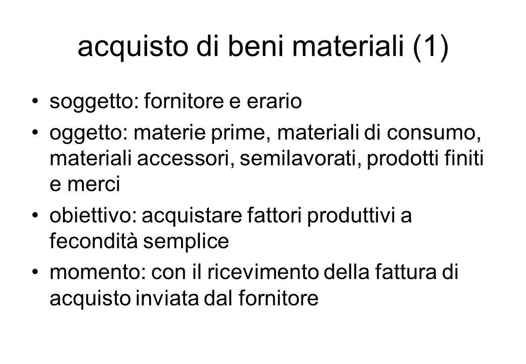 acquisto di beni materiali (1)