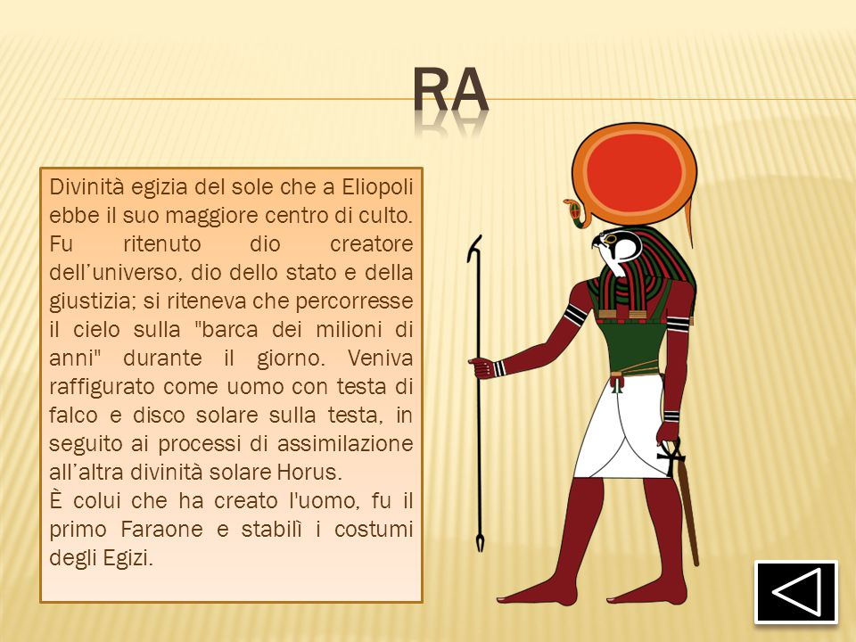 Il deserto e l acqua l egitto dei faraoni ppt video - Armatura dell immagine del dio ...