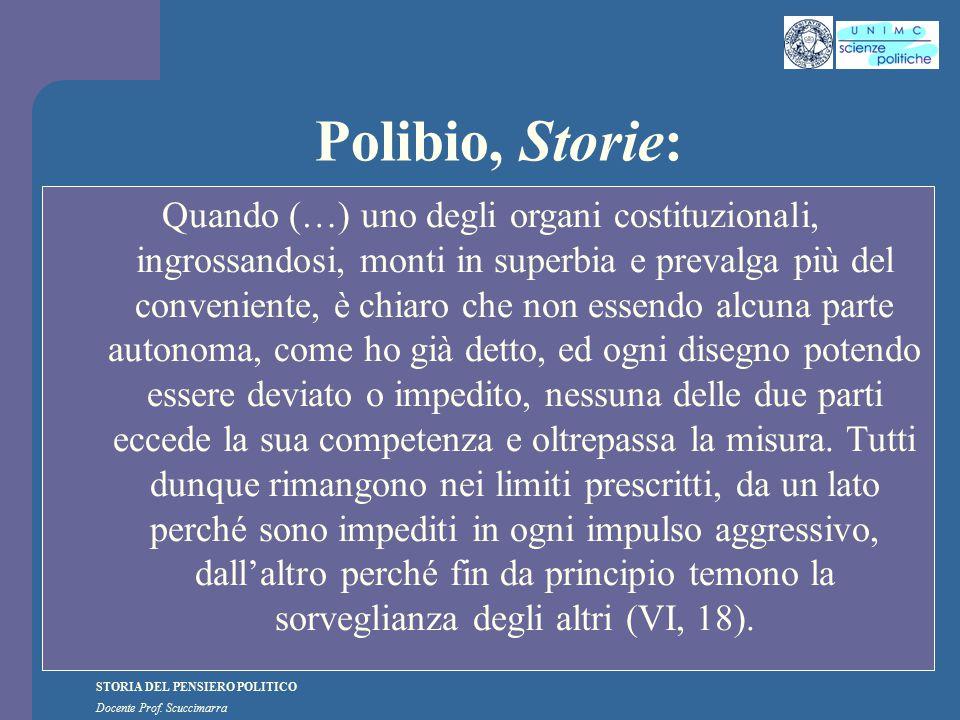 Polibio, Storie: