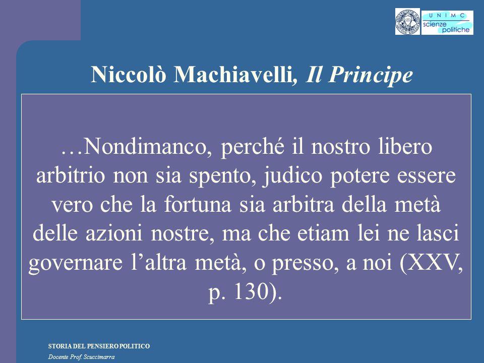 Niccolò Machiavelli, Il Principe