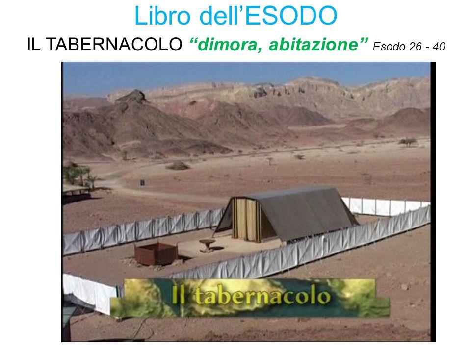 IL TABERNACOLO dimora, abitazione Esodo 26 - 40