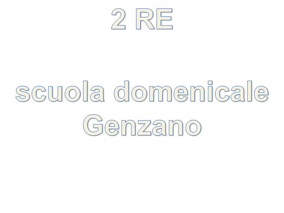2 RE scuola domenicale Genzano