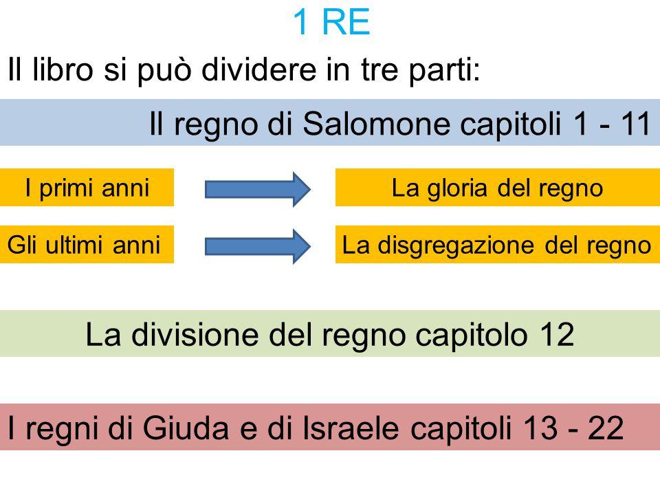 La divisione del regno capitolo 12