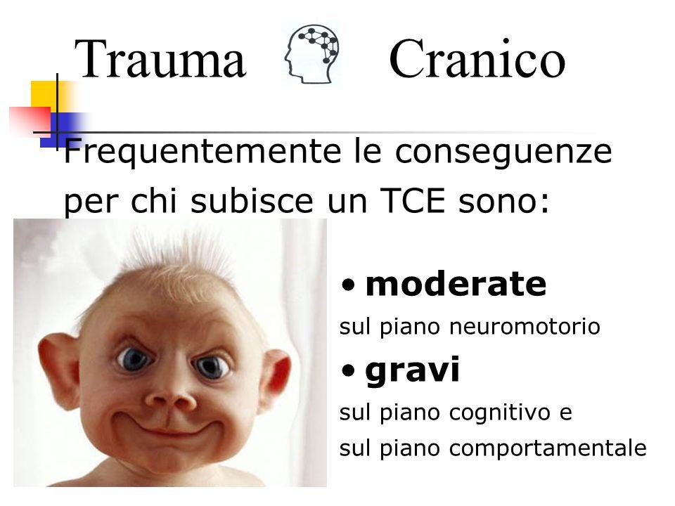 Trauma Cranico Frequentemente le conseguenze