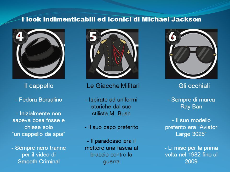 I look indimenticabili ed iconici di Michael Jackson