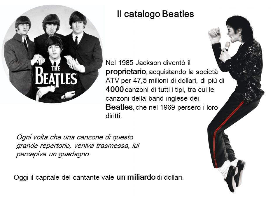 Il catalogo Beatles