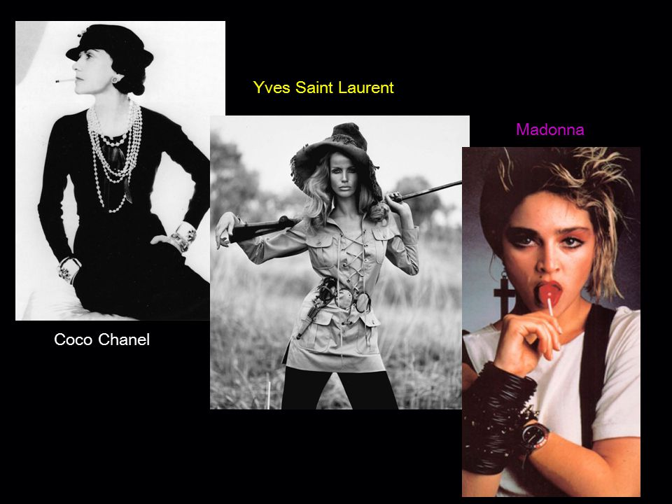 Yves Saint Laurent Madonna Coco Chanel