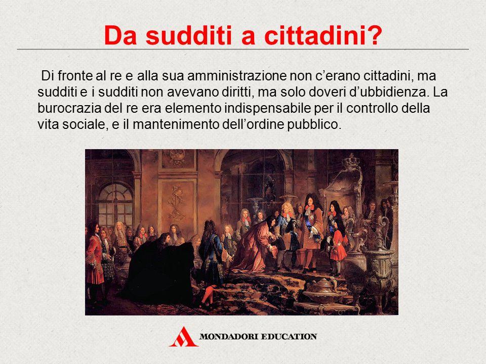 Da sudditi a cittadini