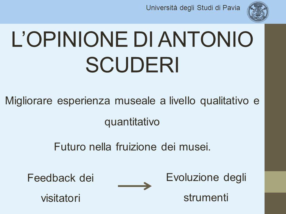 L'OPINIONE DI ANTONIO SCUDERI