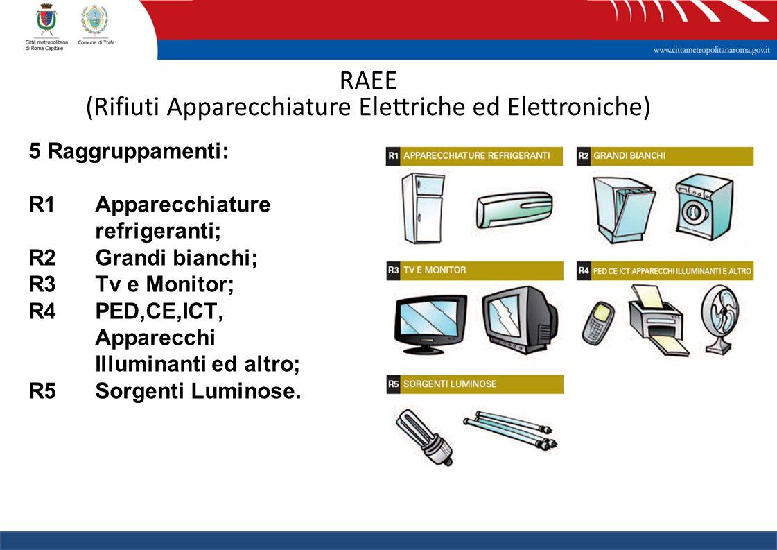 RAEE (Rifiuti Apparecchiature Elettriche ed Elettroniche)