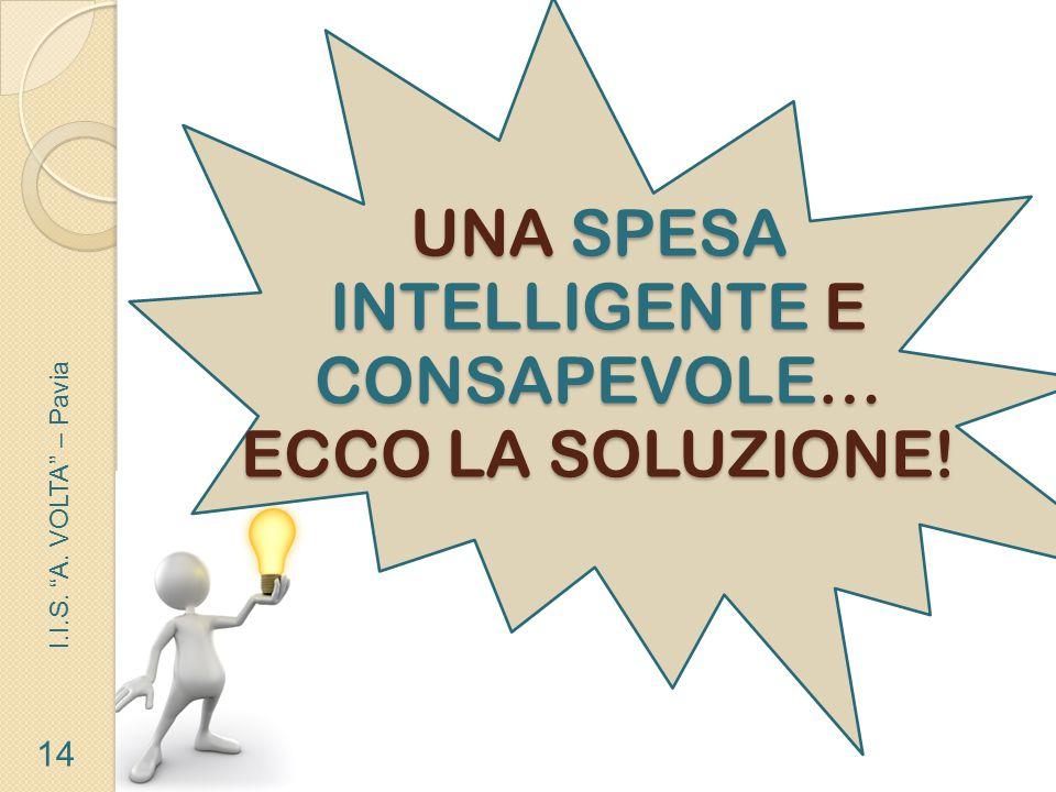 UNA SPESA INTELLIGENTE E CONSAPEVOLE… ECCO LA SOLUZIONE!