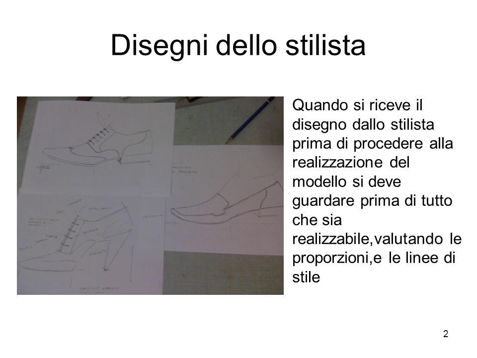 Disegni dello stilista