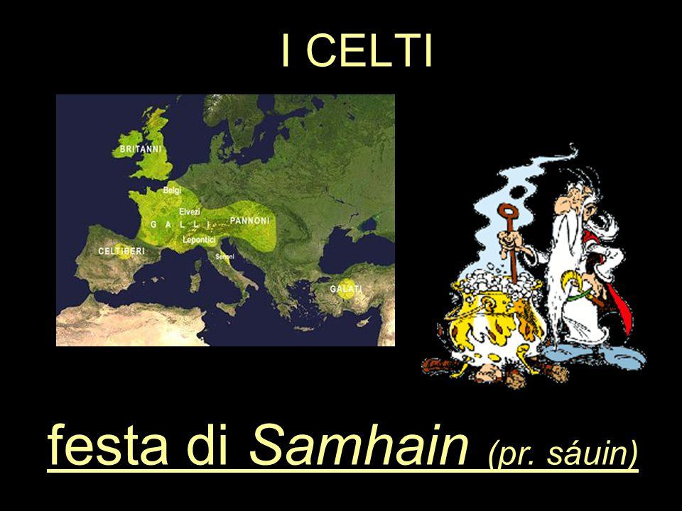 festa di Samhain (pr. sáuin)