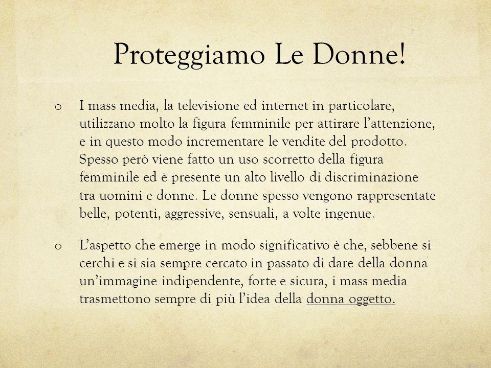 Proteggiamo Le Donne!
