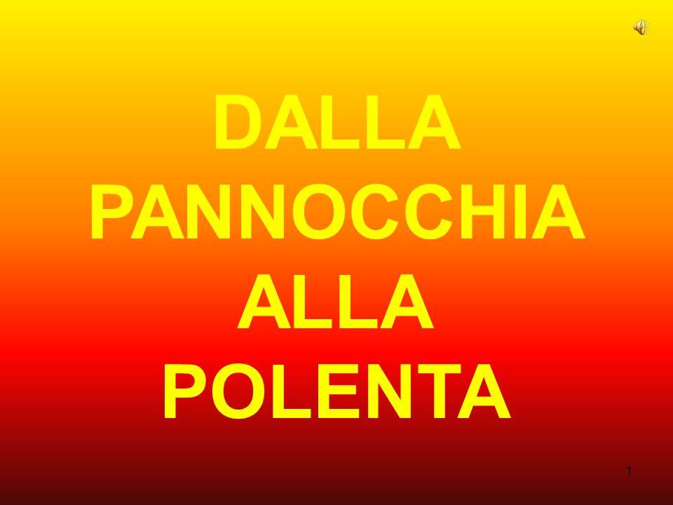 DALLA PANNOCCHIA ALLA POLENTA