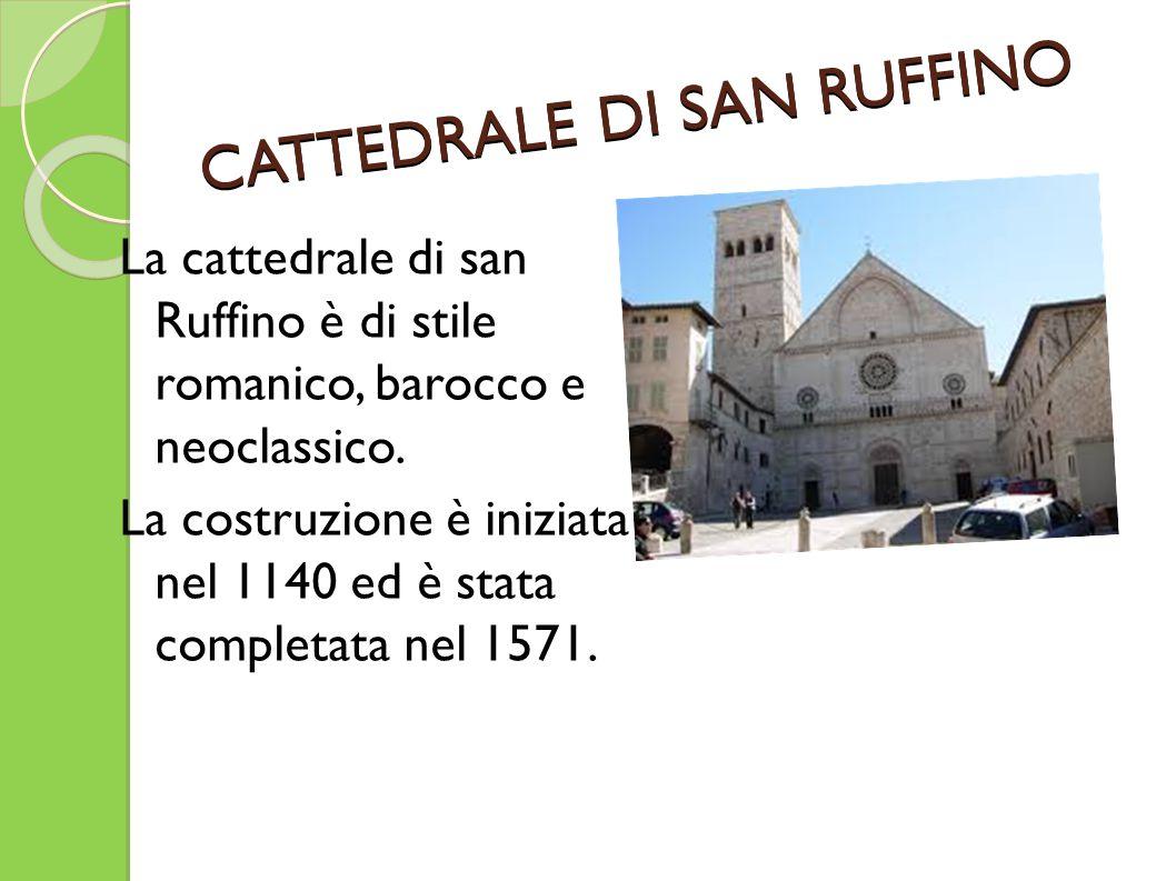 CATTEDRALE DI SAN RUFFINO