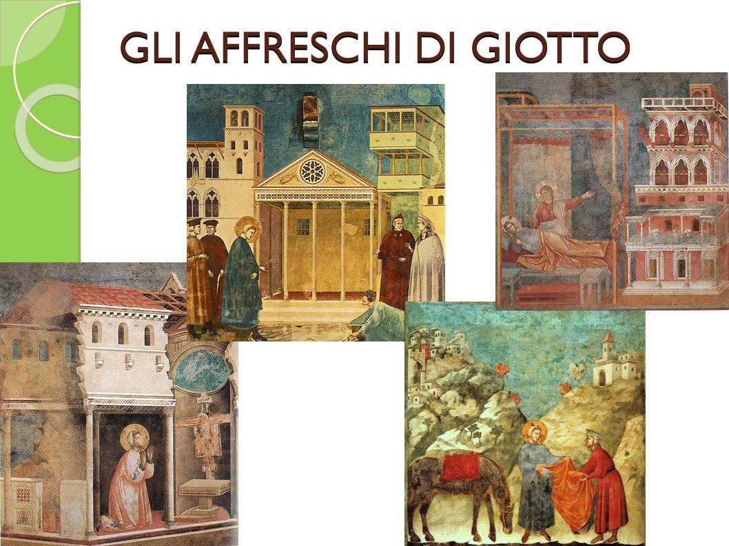 GLI AFFRESCHI DI GIOTTO