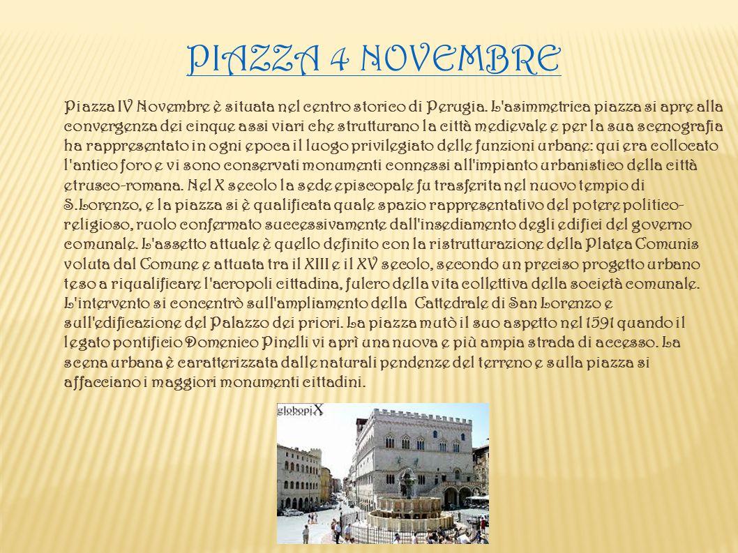 Piazza 4 NOVEMBRE