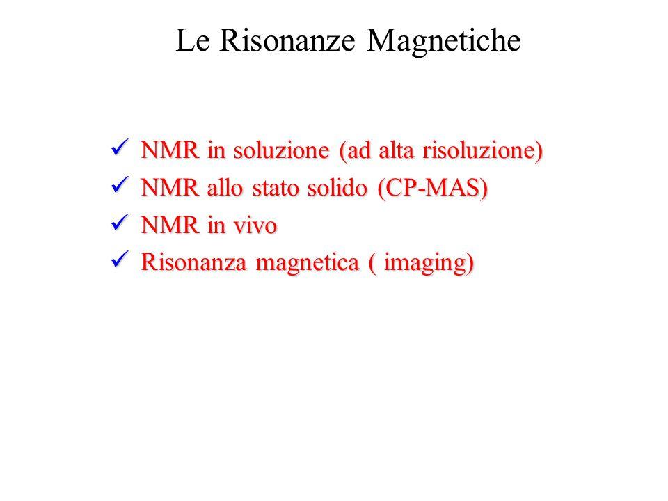 Le Risonanze Magnetiche
