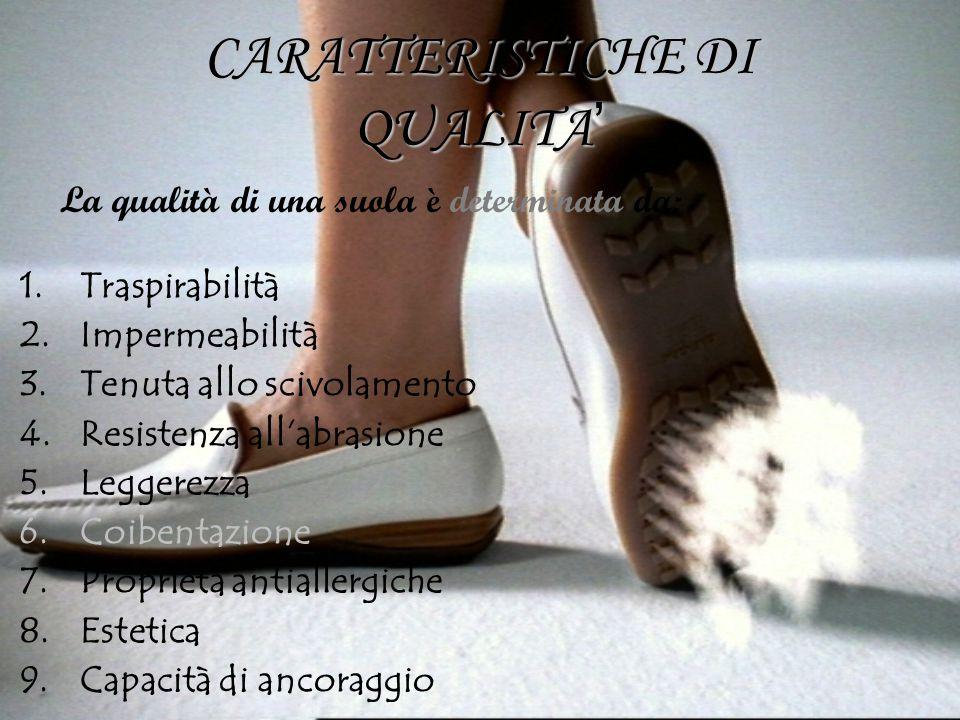 CARATTERISTICHE DI QUALITA'