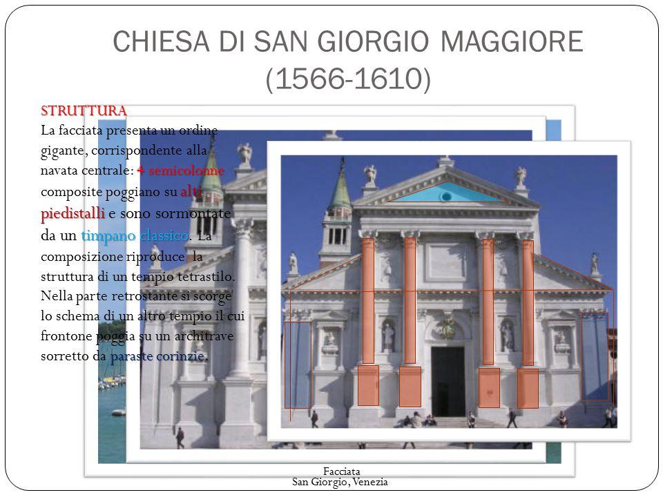 CHIESA DI SAN GIORGIO MAGGIORE (1566-1610)