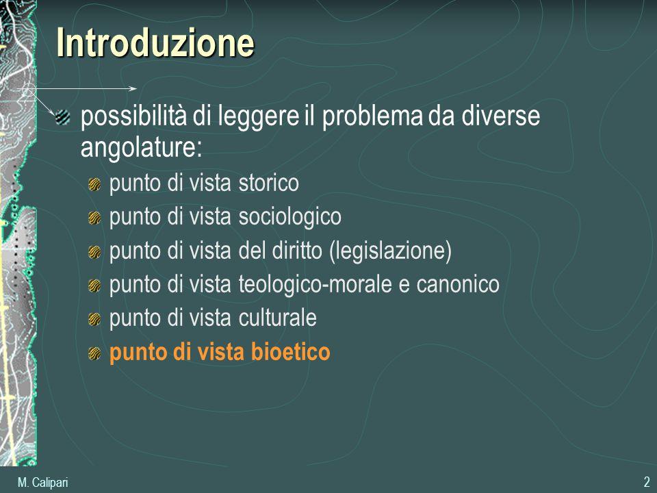 Introduzione possibilità di leggere il problema da diverse angolature: