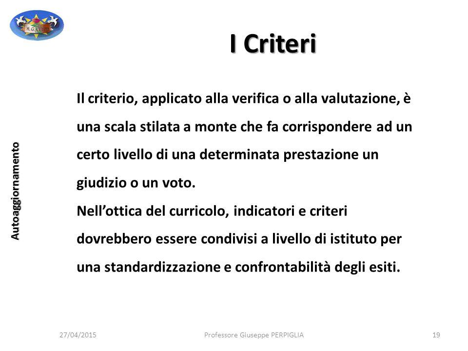 I Criteri