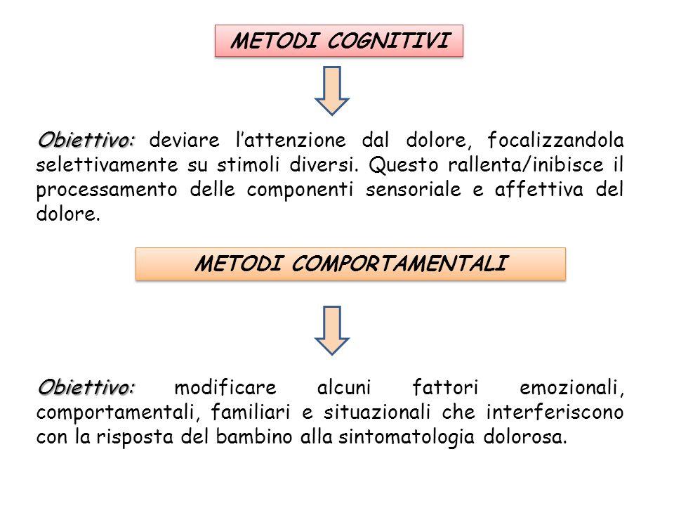 METODI COMPORTAMENTALI