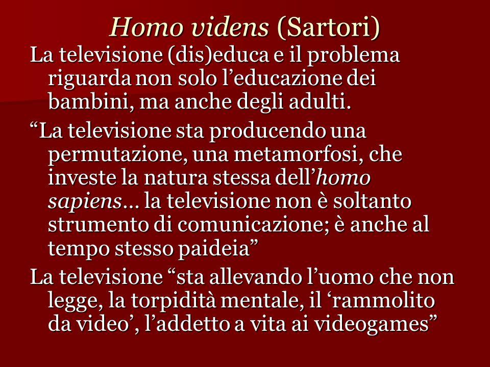 Homo videns (Sartori)