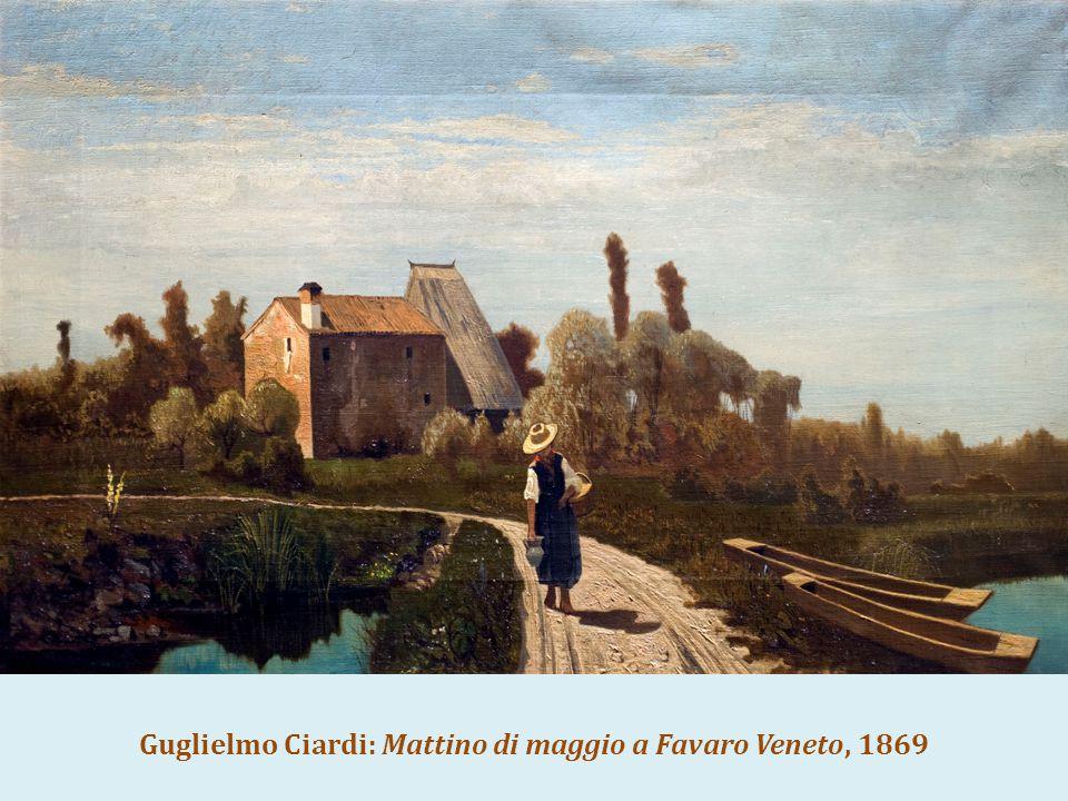 Guglielmo Ciardi: Mattino di maggio a Favaro Veneto, 1869